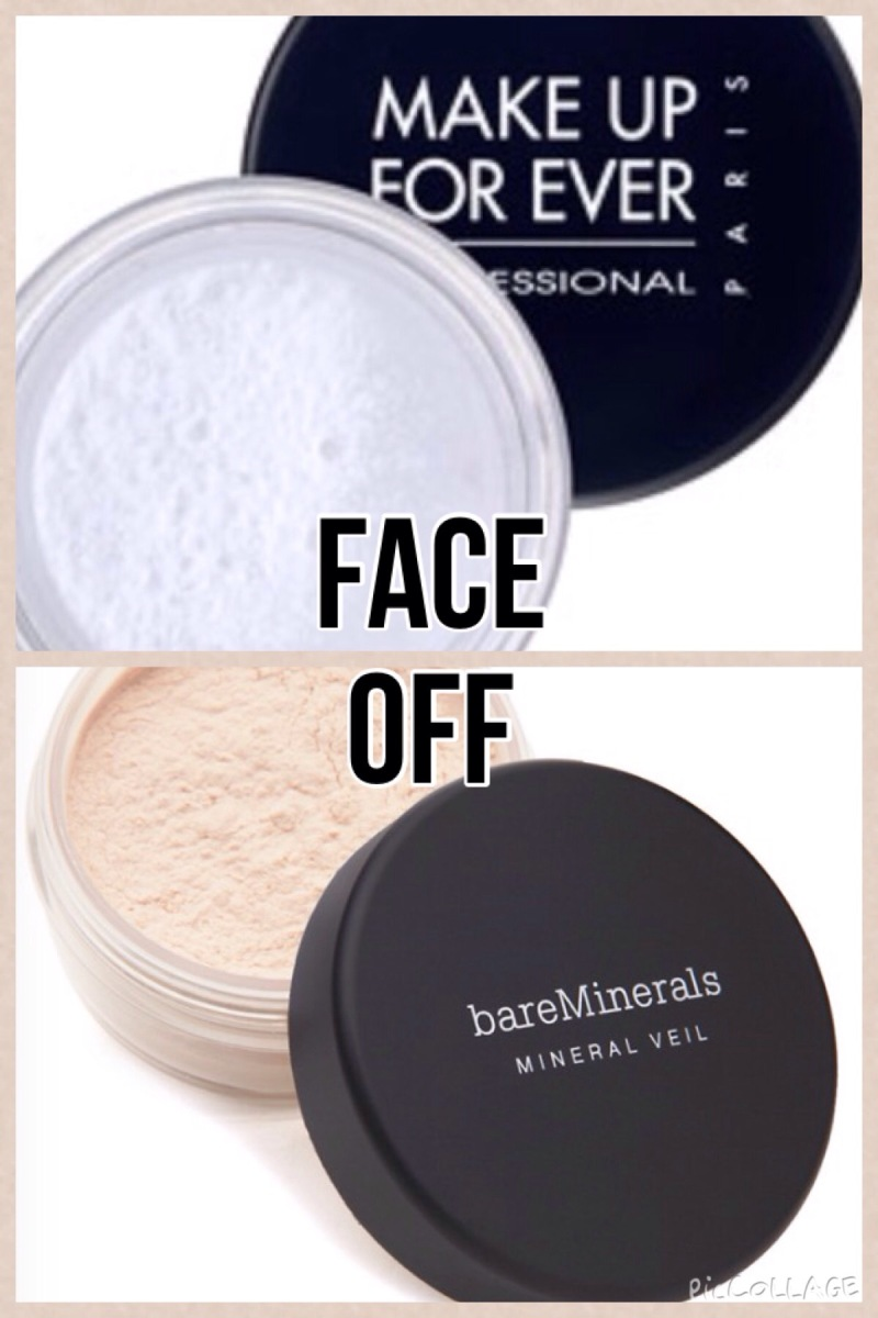 Face Off – Bare Minerals Mineral Veil vs. Make Up For Ever HD Microfinish Powder