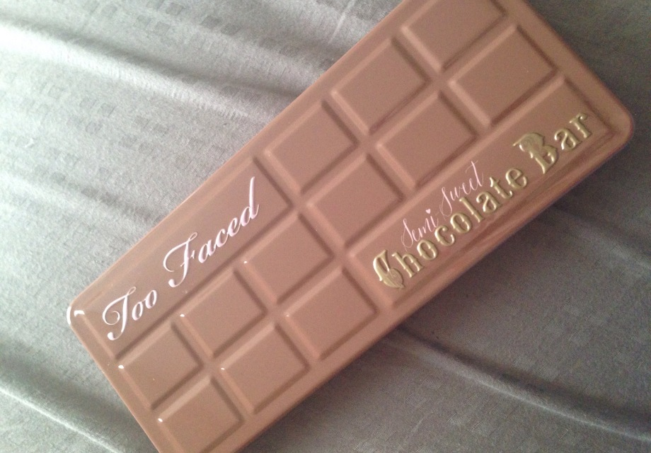 Too Faced Semi Sweet Chocolate Bar Palette Review With